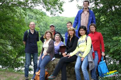 idée team building forêt