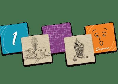 Jeu de société - Songes - cartes