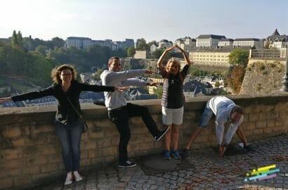 Chasse au trésor à Luxembourg (1)