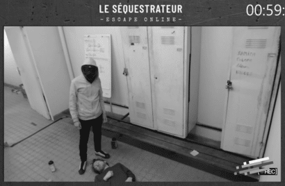 Escape Room en ligne Le Sequestrateur